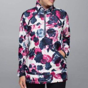 Lululemon Miss Misty Pullover in Inky Floral Ghost
